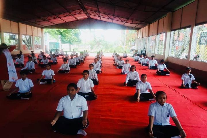Pinewood Residential School-Yoga Day