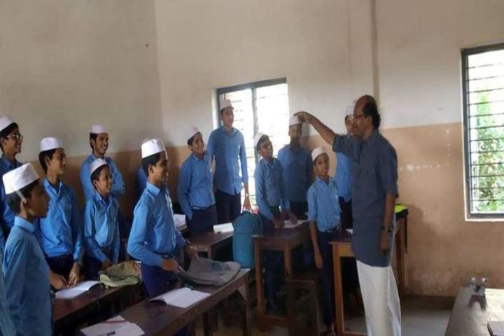 Sa Adiya English Medium Residential Senior Secondary School-Classroom