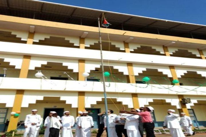 Sa Adiya English Medium Residential Senior Secondary School-Flag host