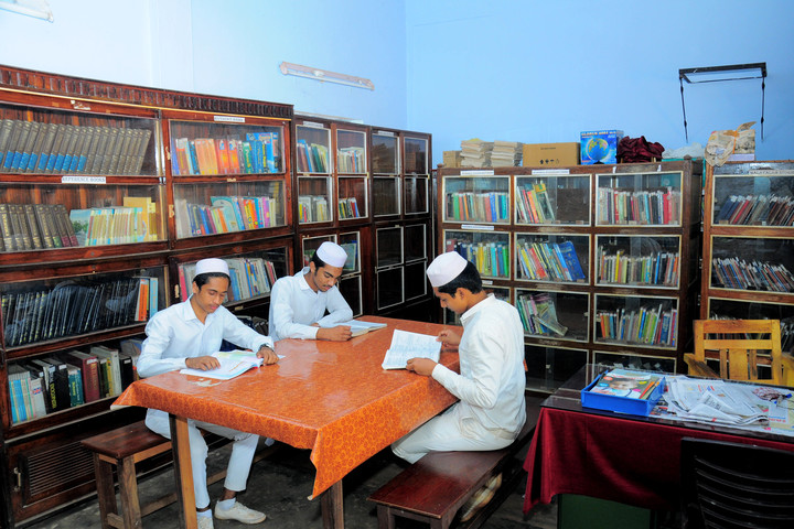 Sa Adiya English Medium Residential Senior Secondary School-Library