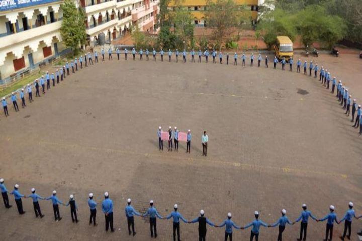 Sa Adiya English Medium Residential Senior Secondary School-Playground