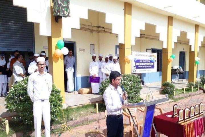 Sa Adiya English Medium Residential Senior Secondary School-Speech