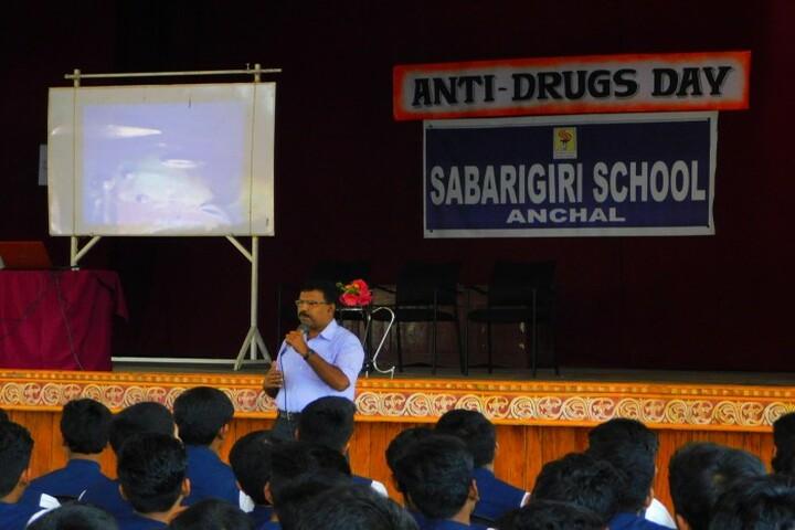 Sabarigiri English School-Degital class