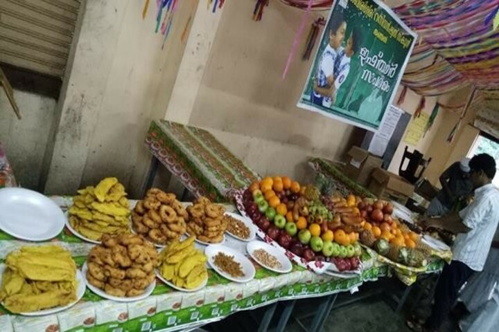 Sabarigiri English School-Food fest