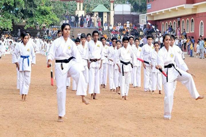 Sabarigiri English School-Karate