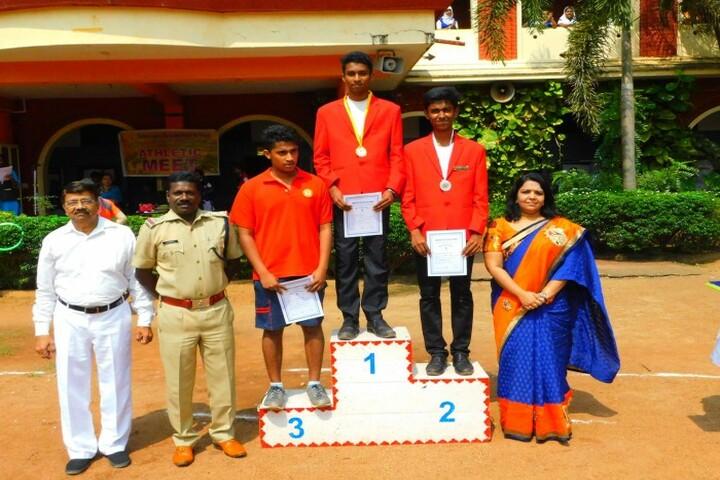Sabarigiri English School-Sports Winners