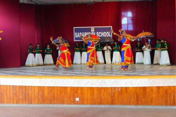 Sabarigiri English School-Traditional Dance