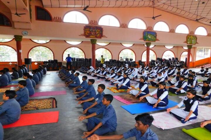 Sabarigiri English School-Yoga