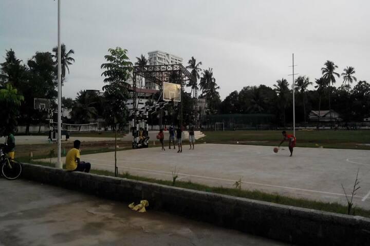 Sacred Heart CMI Public School-Basket Ball Court