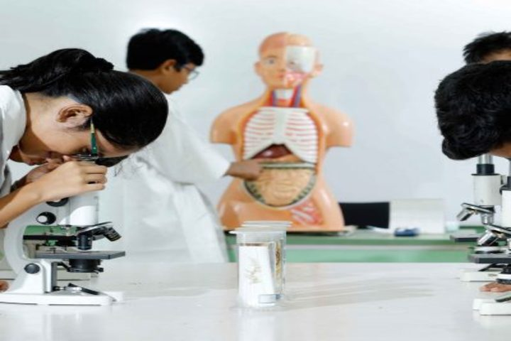 Sadhbhavana World School-Physics lab