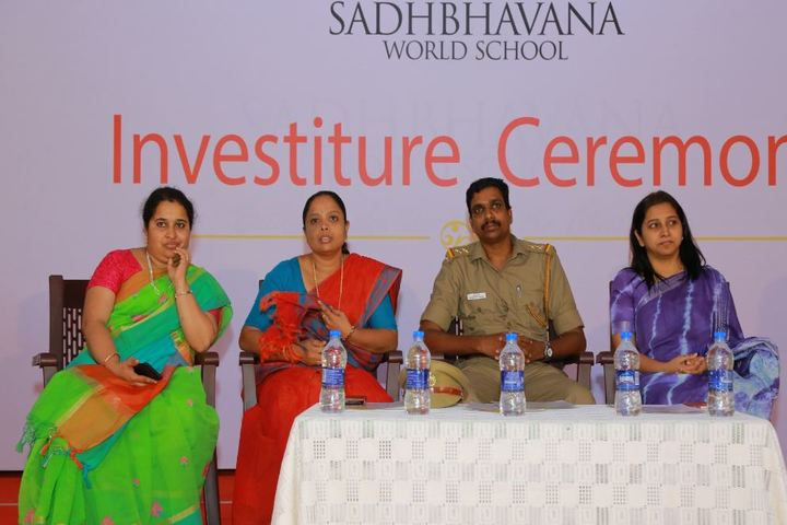 Sadhbhavana World School-Staff