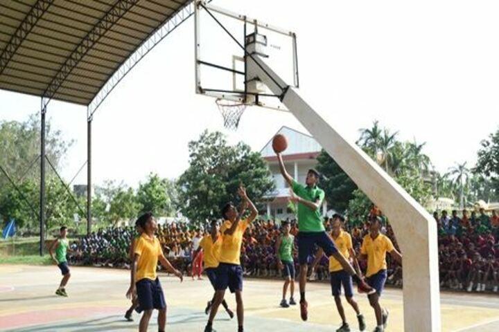 Sainik School-Basket ball ground