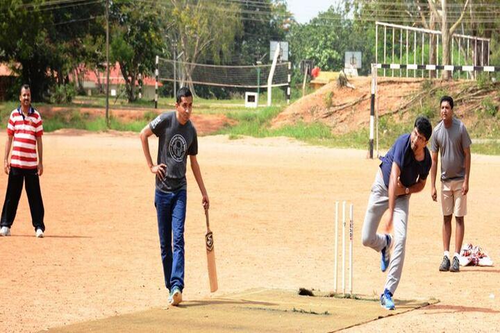Sainik School-Cricket