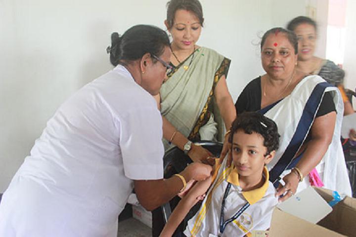 Pragjyotish school- Health and Medical Checkup