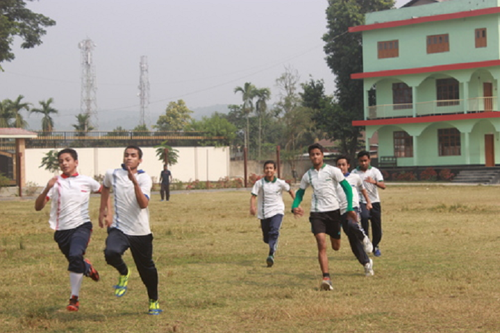 Pragjyotish school- Sports