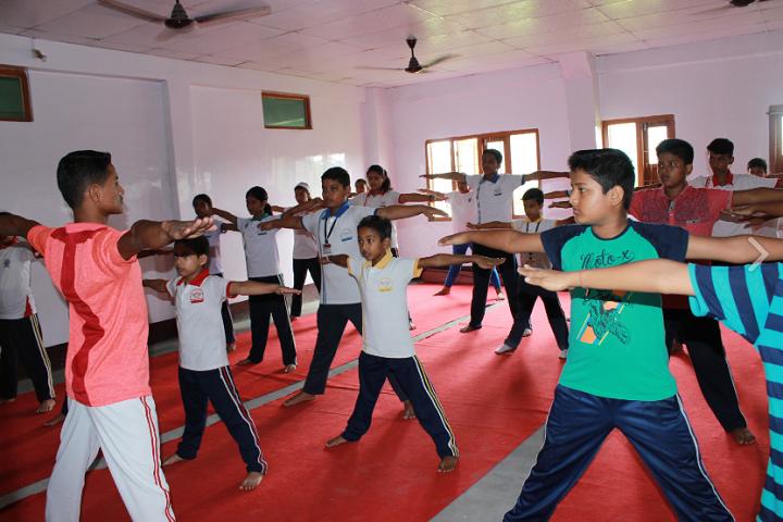 Pragjyotish school- Yoga