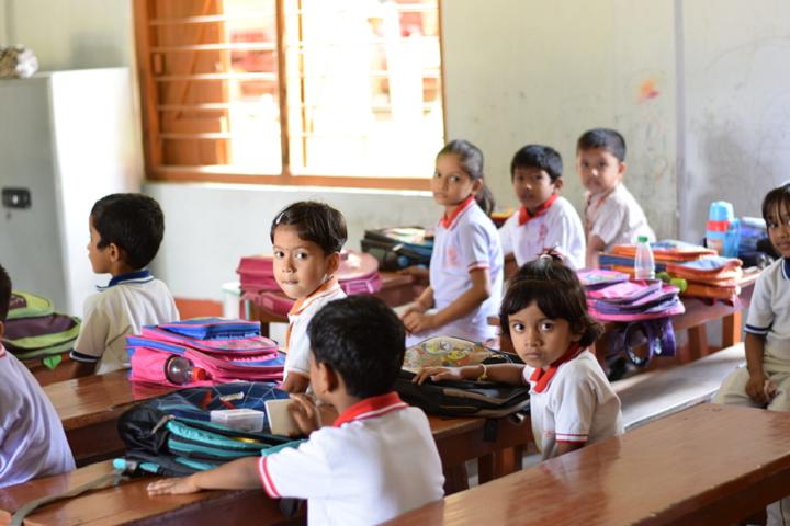 Pranabananda Vidyamandir-Classroom