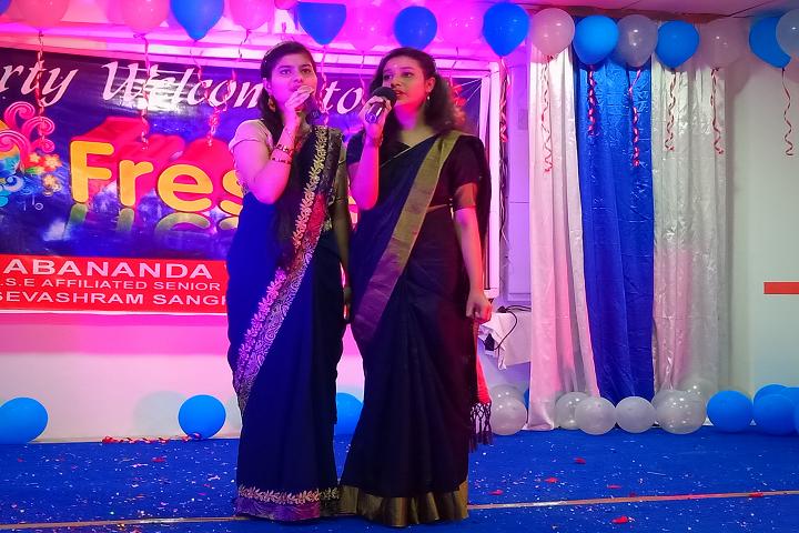 Pranabananda Vidyamandir-Freshers Party