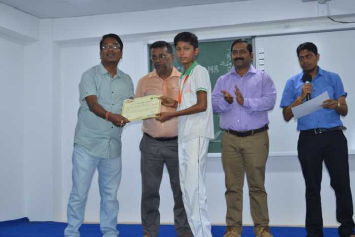 Pranabananda Vidyamandir-Receiving Certificate