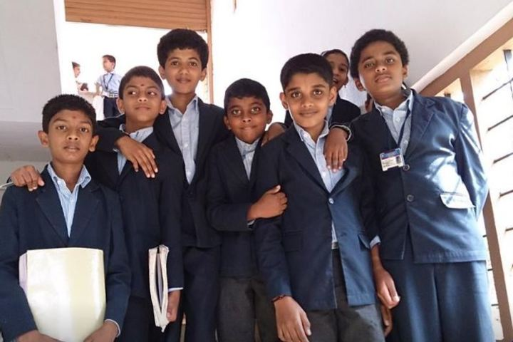 Santhom Public School-Students