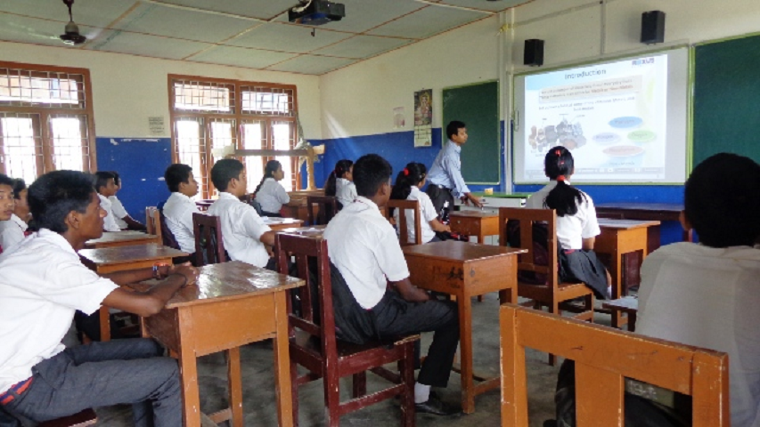 purna vikash central school- Classroom