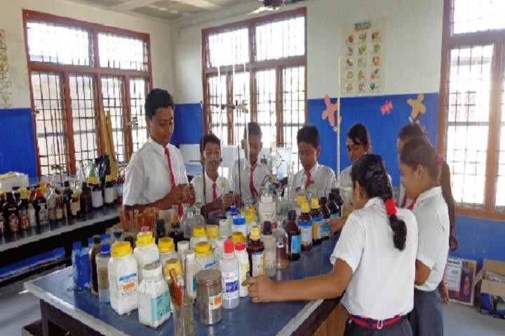 purna vikash central school- Chemistry Lab