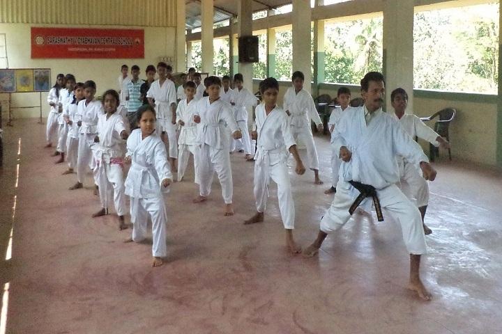 Saraswathy Vidya Bhavan Central School-Karate