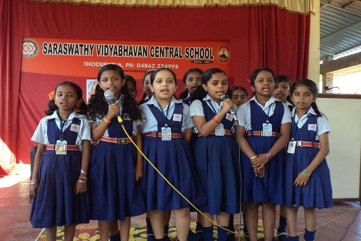 Saraswathy Vidya Bhavan Central School-Singing