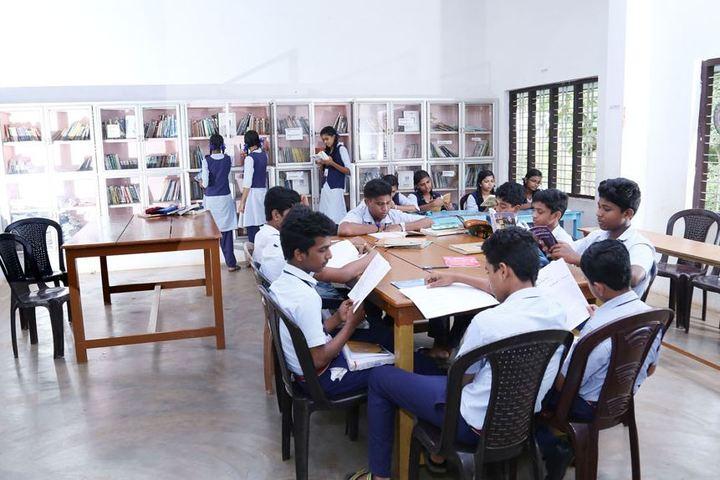 Saraswathy Vidyalayam School-Library