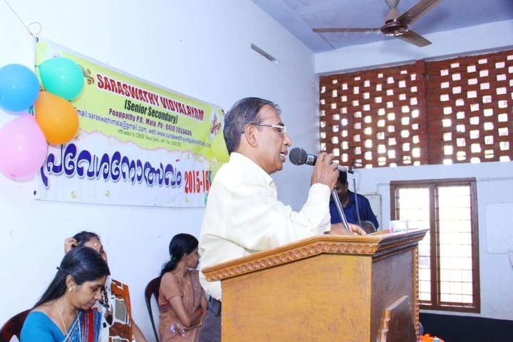 Saraswathy Vidyalayam School-Speech