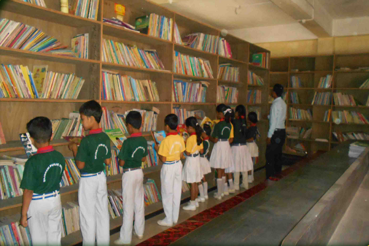 Rajdhani Public School- Library