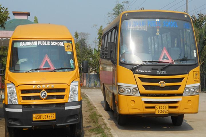 Rajdhani Public School- Transportation