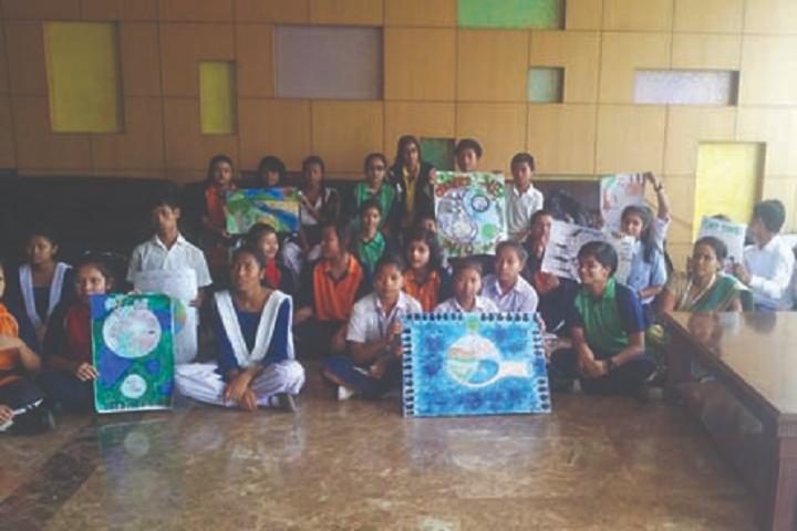 Royal global school- Earth Day