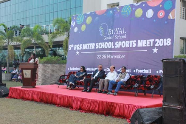 Royal global school- Sports Meet