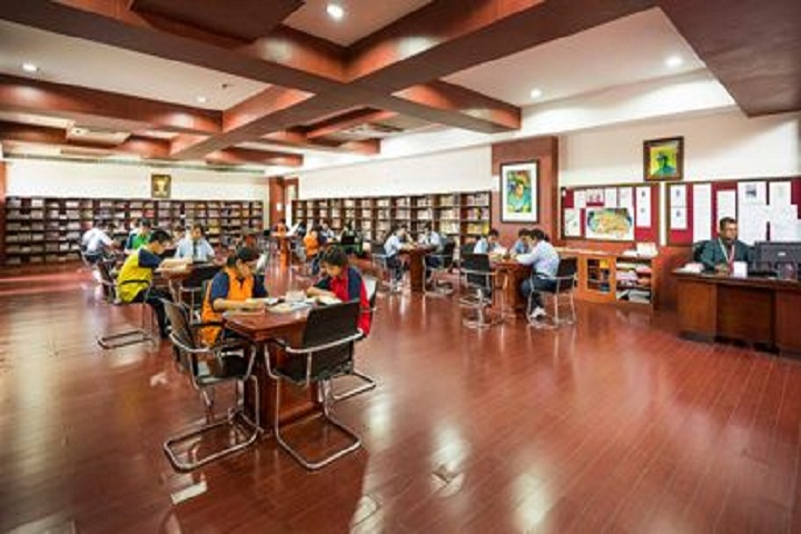 Royal global school-Library
