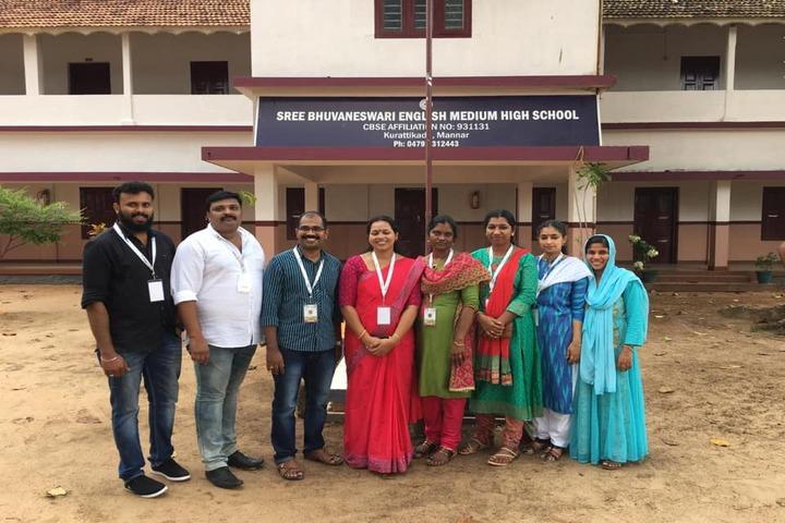 Sree Bhuvaneswari English Medium High School-Staff