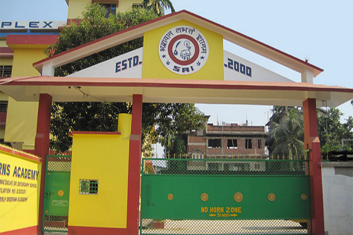 Sai Rns Academy- School Front View