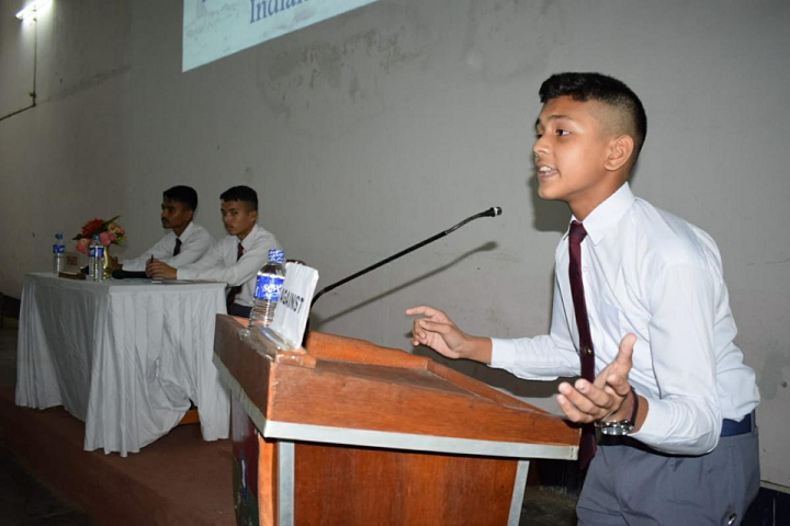 Sainik School- Debate