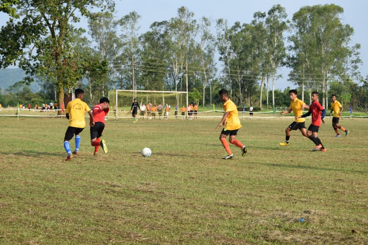 Sainik School- Football