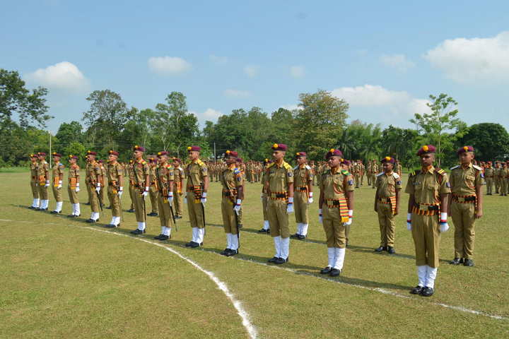 Sainik School- Investiture Ceremony