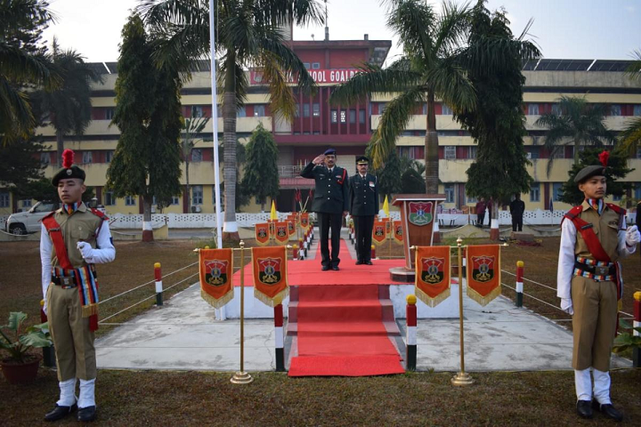 Sainik School- Republic Day