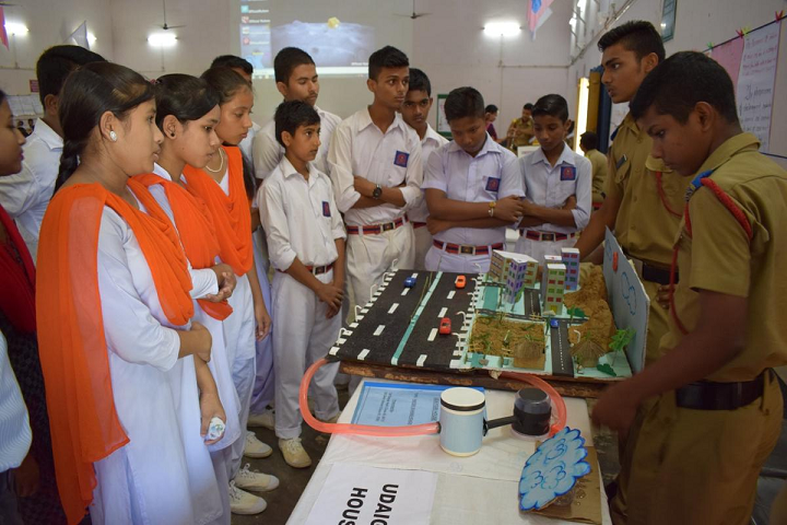 Sainik School- Science Exhibition