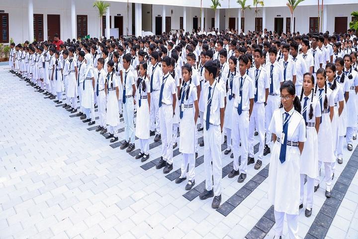 Sree Narayana Guru Memorial Central School-Assembly