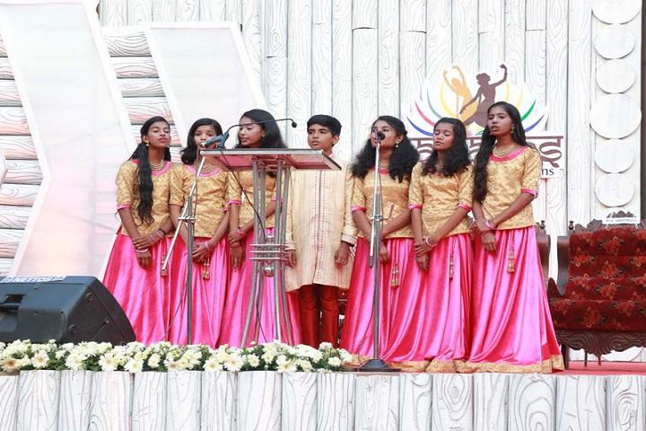 Sree Narayana Guru Memorial Central School-Group Song