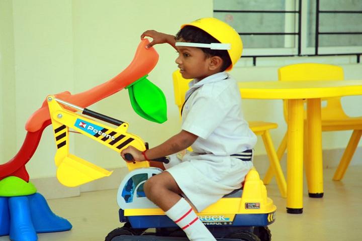 Sree Narayana Guru Memorial Central School-Kids Area