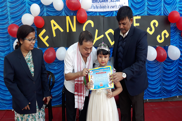 Sampoorna Kendra Vidyalaya-Fancy Dress Competition