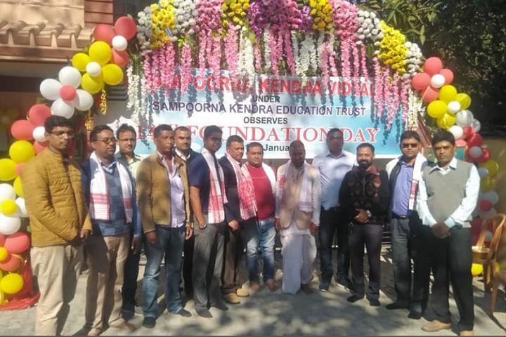 Sampoorna Kendra Vidyalaya-Foundation Day