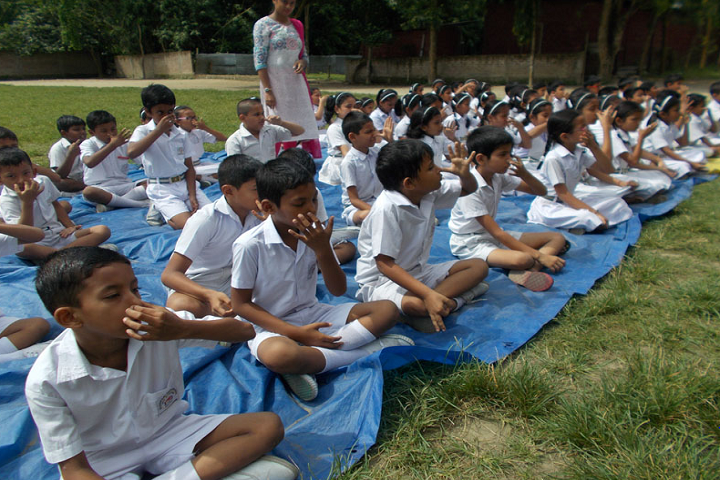 Sandipani vidya mandir- International Yoga Day