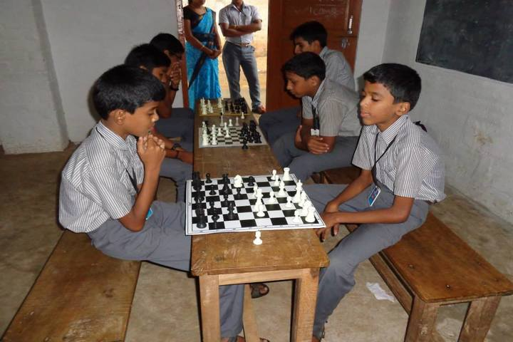 Sreekrishnapuram Central School-Chess Competition