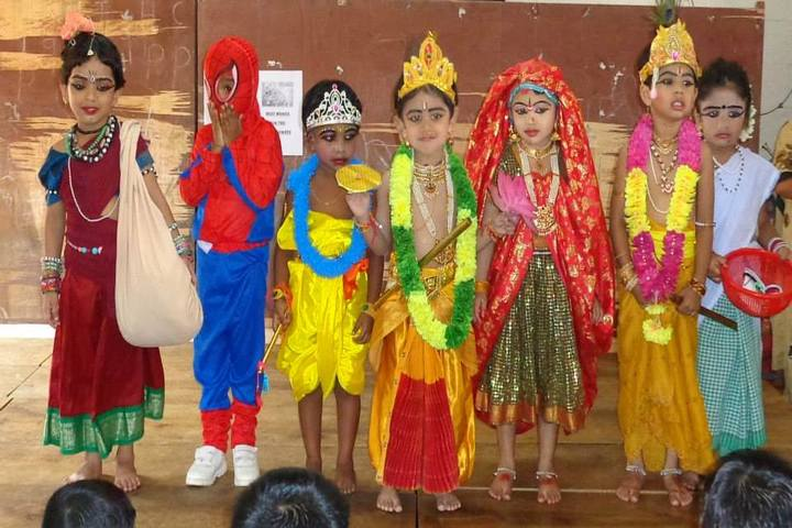 Sreekrishnapuram Central School-Fancydress